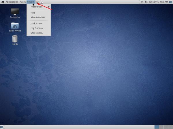 Agilia 8 GNOME Desktop