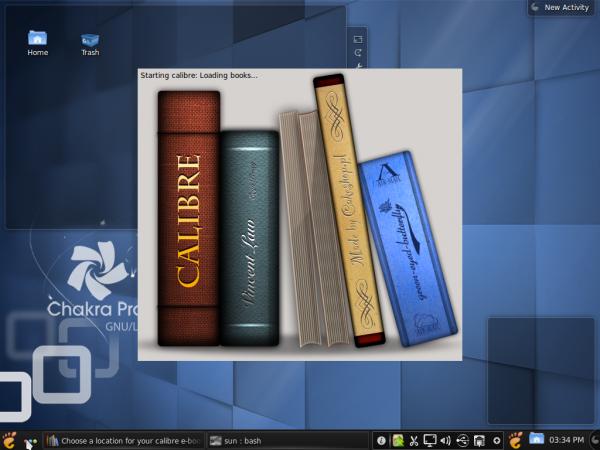 Calibre E-book Reader