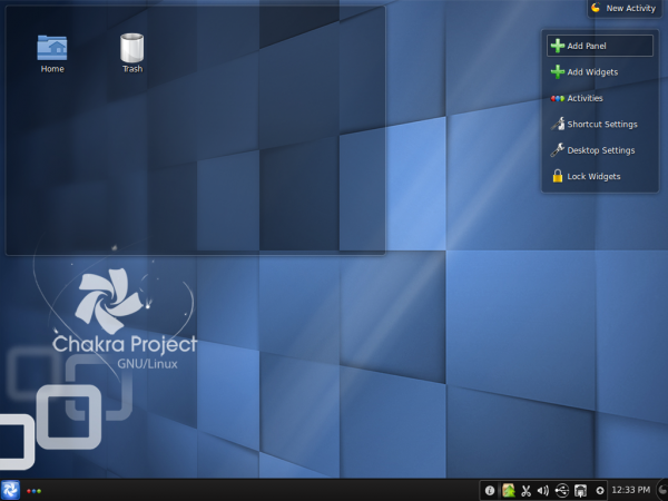 Chakra Edn KDE Desktop