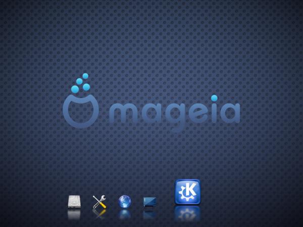 Mageia 2 KDE Desktop Initia
