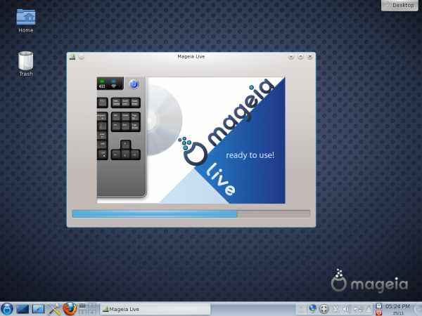 Mageia 2 alpha 1 KDE and GNOME 3 screenshots preview