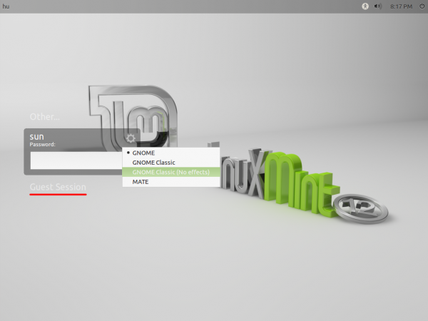 Disable guest session and create user accounts in Linux Mint 12