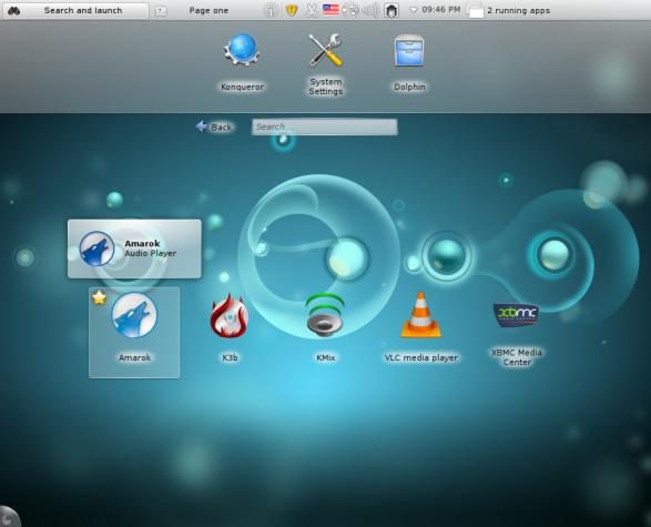 Sabayon 7 KDE Multimedia Apps