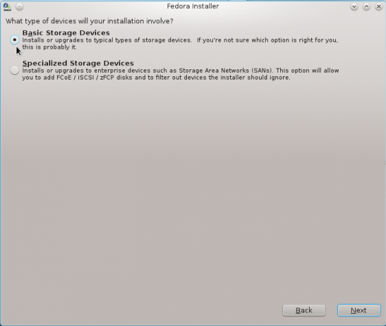 Install Fedora 16 on an encrypted btrfs file system
