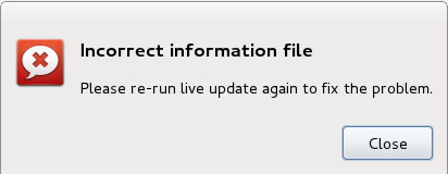 Linpus Lite 1.6 Live Update Error