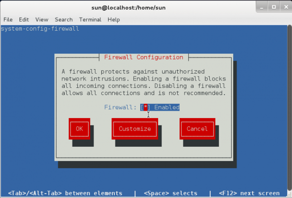 System Config Firewall Linpus Lite 1.6