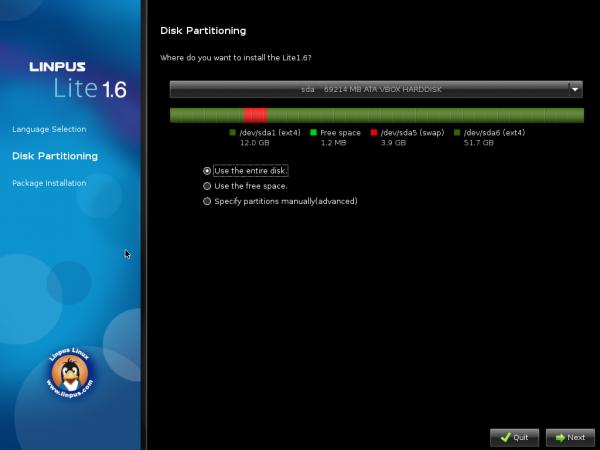 Linpus Lite 1.6 Installer