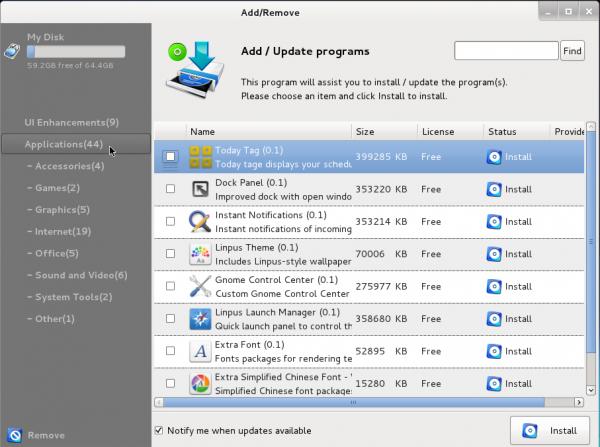 Linpus Lite 1.6 Live Update