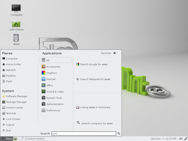 Linux Mint 12 Mate Freezes
