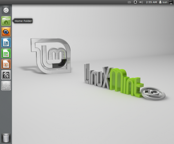 Unity Desktop On Linux Mint 12