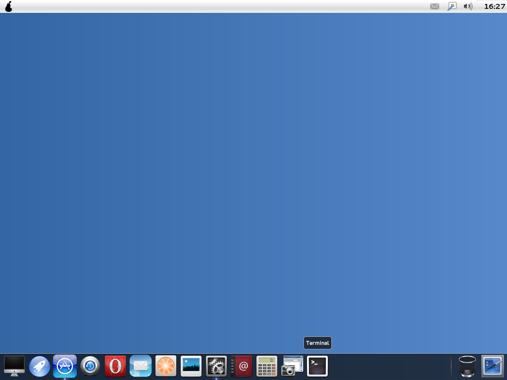Pear Os Linux Panther 3 Screenshot Preview