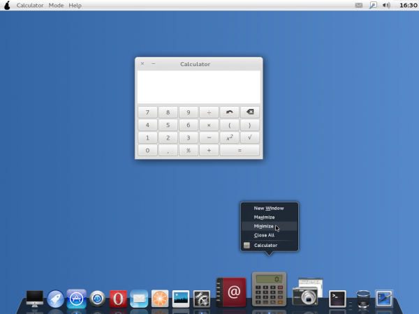 Pear OS Panther 3 Desktop