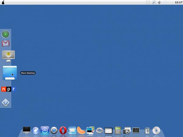 Pear OS 3 Extra Dock