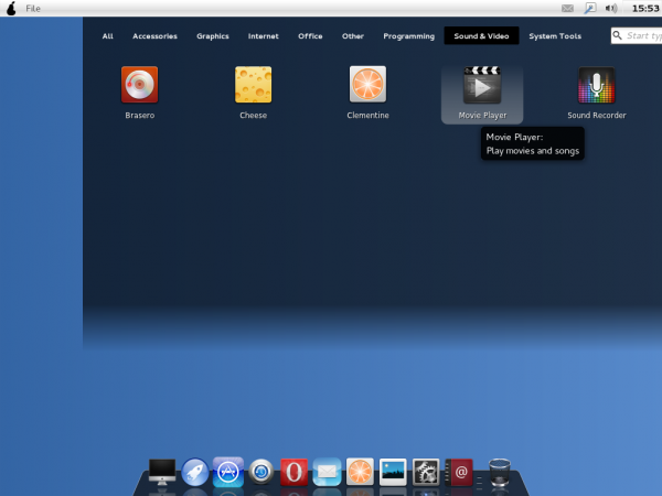 Pear OS Linux Panther Launchpad