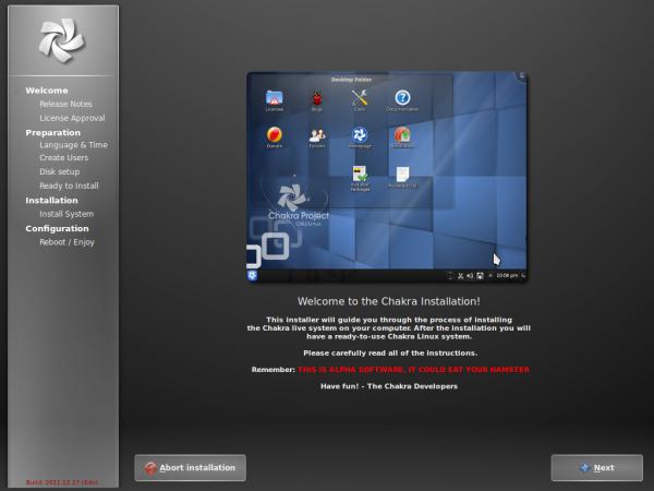 Chakra Linux Edn Installer Tribe