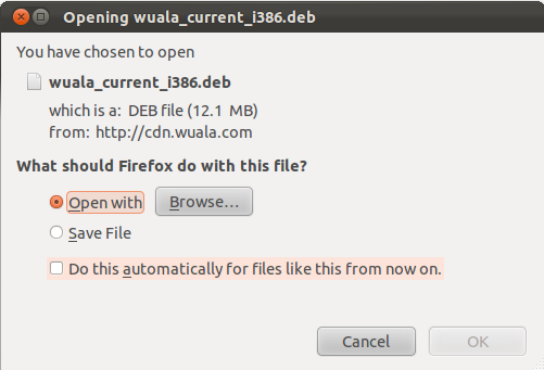How to setup Wuala secure cloud storage in Ubuntu 11.10 and Linux Mint 12