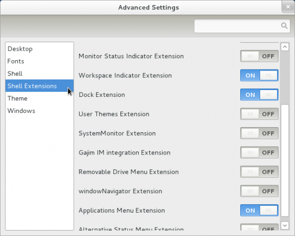GNOME 3 Advanced Editor