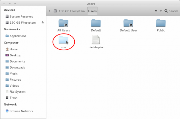 Linux Windows file Sharing