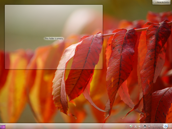 Linux Mint 12 KDE Fall Wallpaper