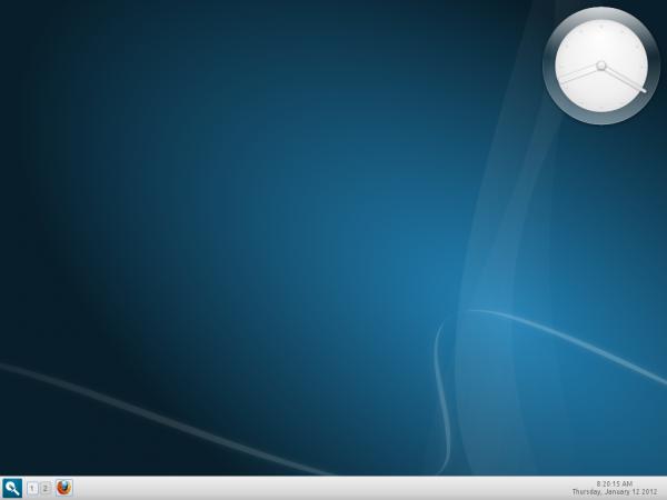 Linux Mint 12 Razor-qt Desktop