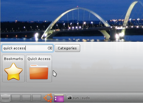 Add Quick Access Plasma Widget