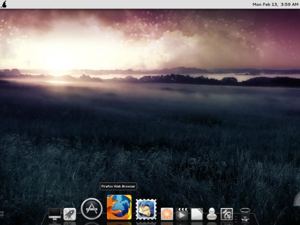 Pear Linux Comice OS 4 Desktop