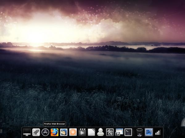 Pear Linux Comice OS 4 Desktop Non-classic