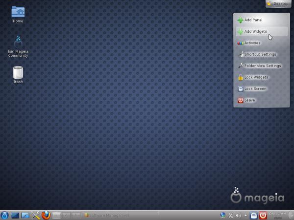 Mageia 2 Desktop