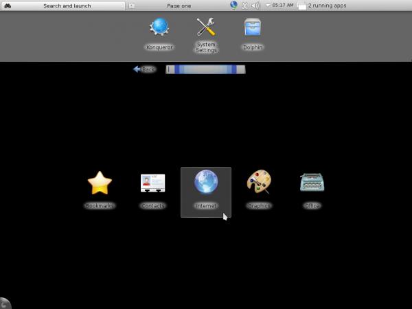 Mageia 2 Plasma Netbook Default