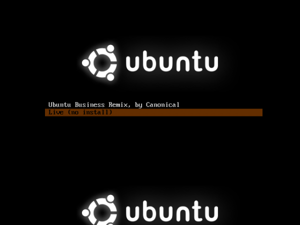 Ubuntu Business Desktop Remix Boot