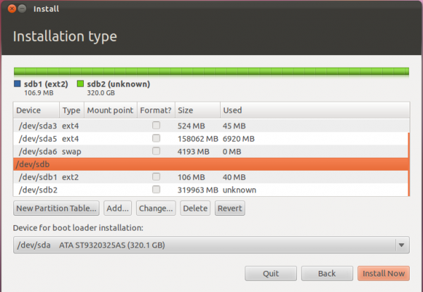 Ubuntu 11.10 Advanced Partition tool