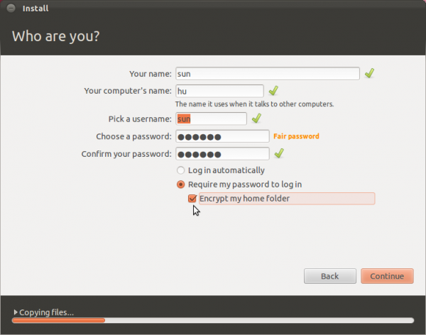 Ubuntu Install External Drive
