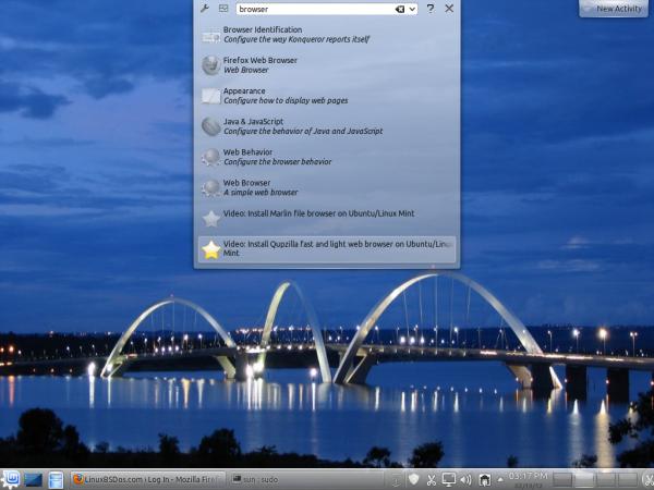 Appmenu-qt Linux Mint 12 KDE