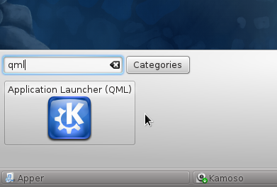 Add Appmenu-QML to KDE Panel