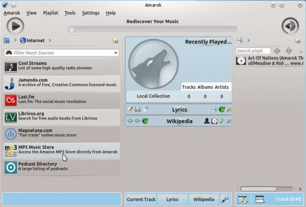 Amarok Kubuntu 12.04
