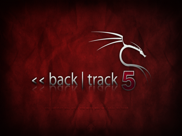 BackTrack 5 Splash Screen