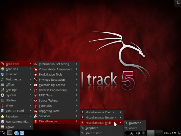 BackTrack 5 Apps