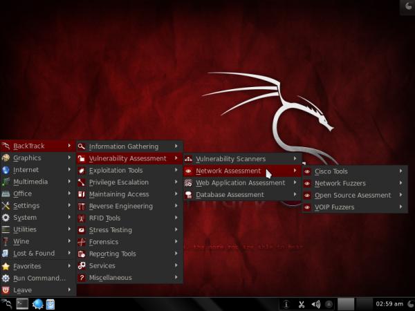 BackTrack 5 Vulnerability Apps