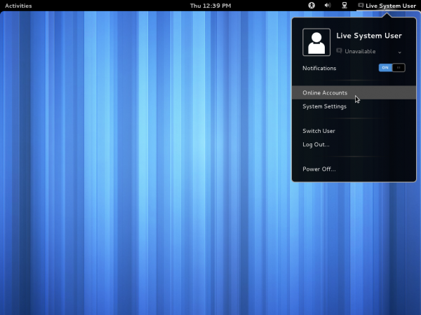 GNOME 3.4 Desktop
