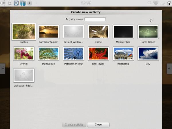 Kubuntu-Active Themes