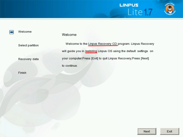 Linpus Lite Desktop 1.7 Installer