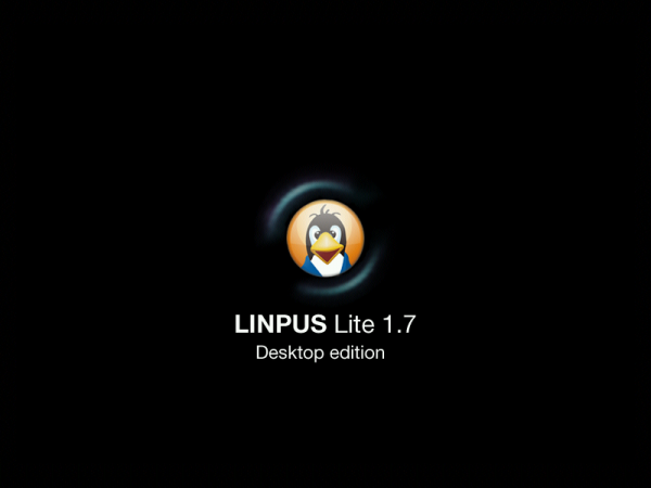 Linpus Lite Desktop 1.7 Splash Screen