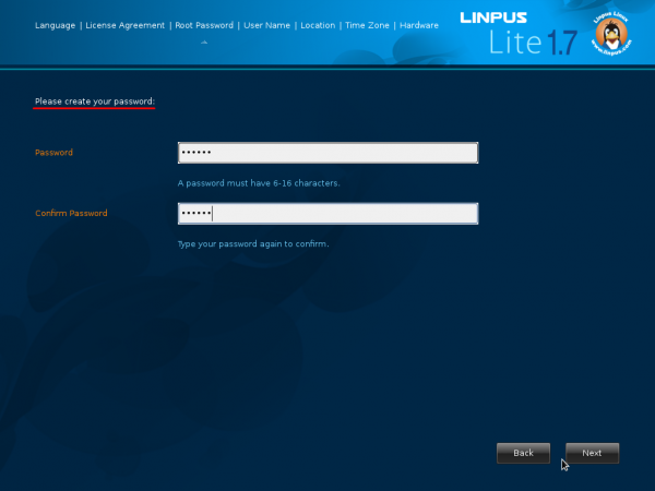 Linpus Lite Desktop 1.7 Root Password