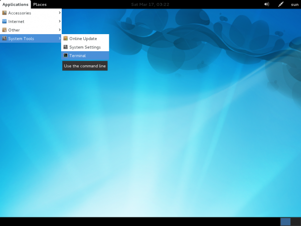Linpus Lite Desktop 1.7 Menu System Tools