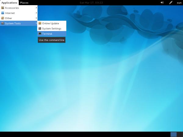 Linpus Lite Desktop 1.7 Menu System Tools