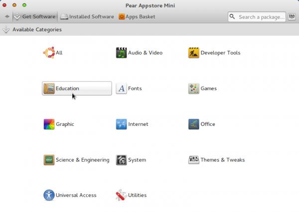 Comice O 4 Netbook Appstore Mini