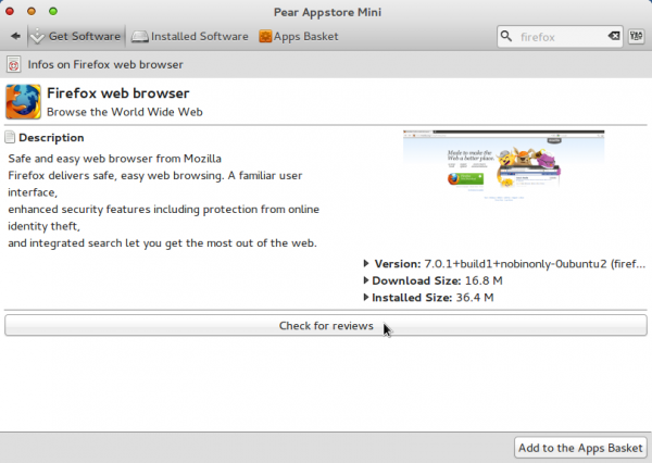 Comice O 4 Netbook Appstore Mini App Info