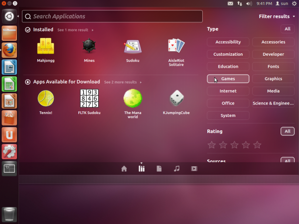 Ubuntu 12.04 Precise Pangolin Games