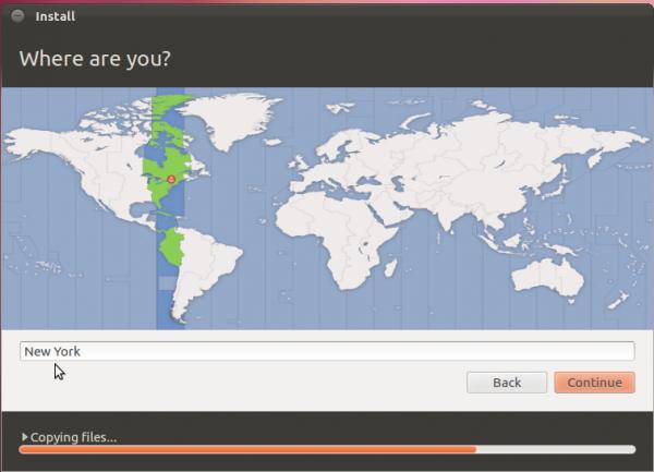Ubuntu 12.04 Installer Timezone