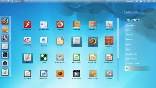 Linpus Lite Desktop 1.7 Apps